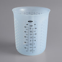 OXO 11161000 Good Grips 1 Pint (2 Cups) Squeeze & Pour Translucent Silicone Measuring Cup