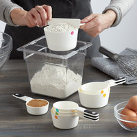 OXO 11145402 Good Grips 1/4 to 1 1/2 Cup 7-Piece White Measuring Cup Set