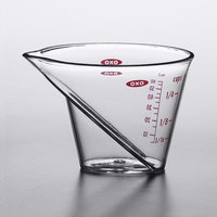OXO 1102640 Good Grips 1/4 Cup Clear Angled Measuring Cup