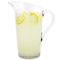 Front of the House API001CLT22 Drinkwise 3 Qt. Plastic Pitcher