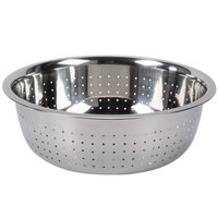 5.5 Qt. Stainless Steel Chinese Colander with Small Holes