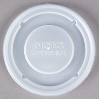 Dinex DX30008714 Translucent Disposable Lid for Dinex Turnbury 8 oz. Mug and 5 oz. Bowl - 1500/Case