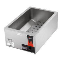Vollrath 72090 Nitro Full-Size Food Warmer / Cooker - 120V, 1440W