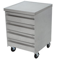 Advance Tabco MDC-4-2015 Mobile Drawer Cabinet - 4 Drawers