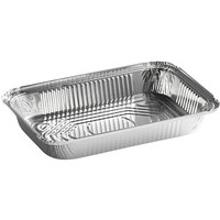 Choice 4 lb. Oblong Foil Take Out Container   - 250/Case