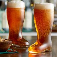Stolzle 09735/708047 Biersiefel 17.5 oz. Beer Boot Glass   - 6/Case