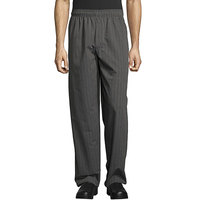 Uncommon Threads 4003 Unisex Classic Broken Twill Customizable Yarn-Dyed Chef Pants - M