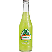 Jarritos 12.5 fl. oz. Lime Soda - 24/Case