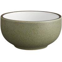 Acopa Embers 13 oz. Moss Green Matte Stoneware Bowl - 24/Case