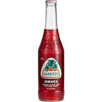 Jarritos 12.5 oz. Jamaica Hibiscus Soda - 24/Case