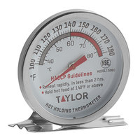 Taylor 5980N 2 inch Dial Professional Hot Holding Thermometer