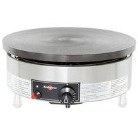 Krampouz CGBIP4 15 3/4 inch Round Natural Gas Cast Iron Crepe Maker - 24,000 BTU