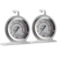 Cooper-Atkins 24HP-01C-2 2 inch Dial Oven Thermometer - 2/Pack
