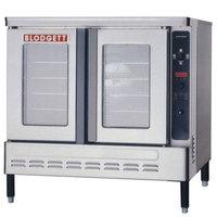 Blodgett DFG-100 Premium Series Natural Gas Additional Unit Full Size Convection Oven - 55,000 BTU