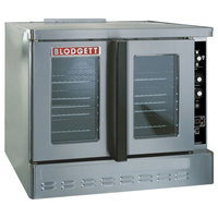Blodgett DFG-200 Premium Series Natural Gas Replacement Base Unit Full Size Bakery Depth Convection Oven - 60,000 BTU