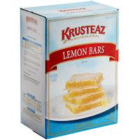 Krusteaz Professional 8 lb. Lemon Bars Mix - 4/Case