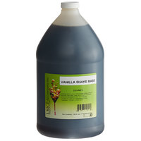 I. Rice 1 Gallon Vanilla Milkshake Base Syrup - 4/Case