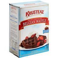 Krusteaz Professional 5 lb. Double Chocolate Belgian Waffle Mix - 6/Case