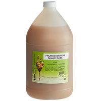 I. Rice 1 Gallon Banana Milkshake Base Syrup - 4/Case