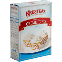 Krusteaz Professional 5 lb. Vanilla Creme Icing Mix - 6/Case