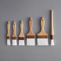 6-Piece Nylon Bristle Pastry / Basting Brush Set