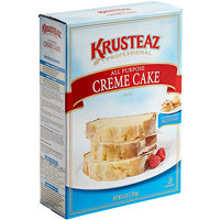 Krusteaz Professional All-Purpose Creme Cake Mix - 6/Case