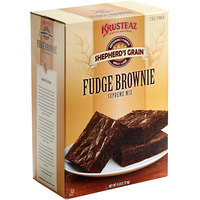 Krusteaz Professional Shepherd's Grain 6 lb. Fudge Brownie Mix - 6/Case