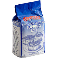 Krusteaz Professional 5 lb. Cinnamon Streusel Topping Cake Mix - 6/Case