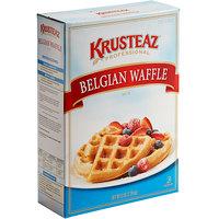 Krusteaz Professional 5 lb. Belgian Waffle Mix - 6/Case