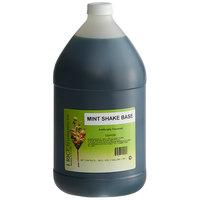 I. Rice 1 Gallon Mint Milkshake Base Syrup - 4/Case