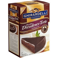 Ghirardelli 7.5 lb. Chocolate Decadence Torte Mix - 4/Case