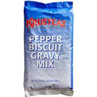 Krusteaz Professional 1.5 lb. Pepper Biscuit Gravy Mix - 6/Case