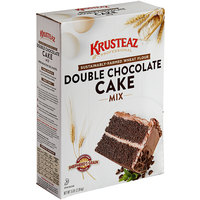 Krusteaz Professional Shepherd's Grain 5 lb. Naturally-Flavored Double Chocolate Cake Mix - 6/Case