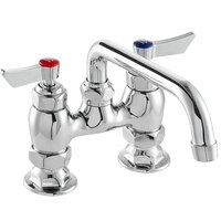 Waterloo FD48 Deck-Mounted Faucet with 4 inch Centers and 8 inch Swing Spout