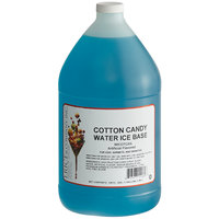 I. Rice 1 Gallon Cotton Candy Water Ice Base - 4/Case