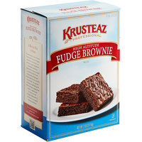 Krusteaz Professional 7 lb. High-Altitude Fudge Brownie Mix - 6/Case