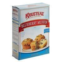 Krusteaz Professional 5 lb. Blueberry Muffin Mix - 6/Case