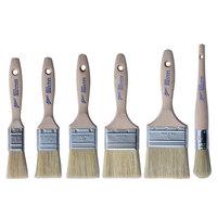 Ateco 6-Piece Boar Bristle Pastry / Basting Brush Set