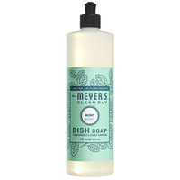 Mrs. Meyer's Clean Day 694977 16 oz. Mint Scented Dish Soap - 6/Case