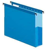 Pendaflex 59203 SureHook Blue Letter Size 1/5 Cut Hanging Box File - 25/Box