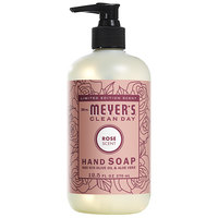 Mrs. Meyer's Clean Day 316561 12.5 oz. Rose Scented Hand Soap with Pump - 6/Case