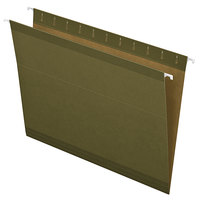 Earthwise by Pendaflex 4152 Green Recycled Fiber Letter Size Hanging Folder - 25/Box