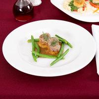 Arcoroc R0802 Candour 10 1/2 inch White Porcelain Banquet Plate by Arc Cardinal - 12/Case