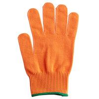 Mercer Culinary M33415ORM Millennia® Orange A4 Level Cut-Resistant Glove - Medium