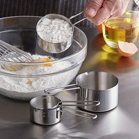Vollrath 47119 4-Piece Stainless Steel Measuring Cup Set