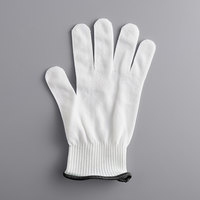 Mercer Culinary M334111X MercerGuard® White A4 Level Cut-Resistant Glove - Extra Large