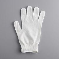Mercer Culinary M33411L MercerGuard® White A4 Level Cut-Resistant Glove - Large