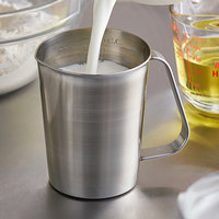 Vollrath 95160 0.5 Qt. Stainless Steel Graduated Measuring Cup