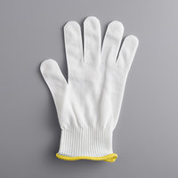 Mercer Culinary M33411XS MercerGuard® White A4 Level Cut-Resistant Glove - Extra Small