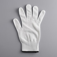 Mercer Culinary M334131X Millennia® White A5 Level Cut-Resistant Glove - Extra Large